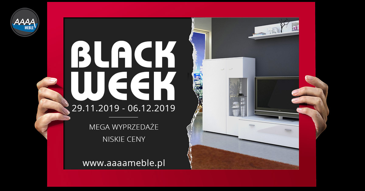 Black Week w AAAA Meble